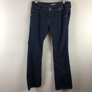 Dolce & gabbana women's jeans sz 34 dark wash
